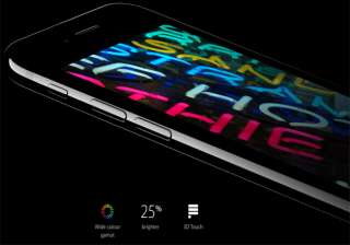 The new iPhone features the brightest, most colorful Retina HD display ever in an iPhone, now with a wide color gamut for cinema-standard colors, greater color saturation and the best color management in the smartphone industry.