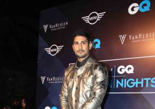 Actor Prateik Babbar turned a show-stopper for designer Sahil Aneja at the Van Heusen and GQ Fashion Nights 2016.