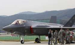 File - A US F-35 stealth fighter at Seoul International