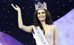 India's Manushi Chillar won the prestigious beauty pageant,