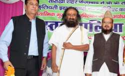 File pic - Spiritual leader Sri Sri Ravi Shankar with