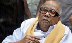 Karunanidhi fell ill in October 2016 due to a drug-induced