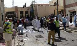 Suicide bombing at church in Quetta