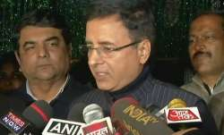 Congress spokesperson Randeep Surjewala