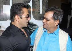 Salman Khan and Subhash Ghai