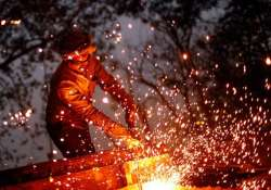 India registered no growth in factory output in March
