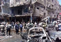 Islamic State claims responsibility for twin blasts near