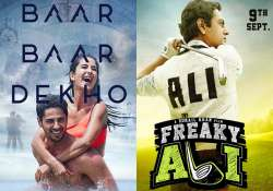 Freaky Ali vs Baar Baar Dekho- India Tv