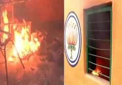 TMC workers step up offensive, set BJP office in Hooghly on- India Tv