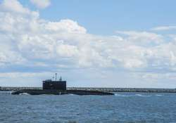 China's nuclear-powered submarine spotted docked at