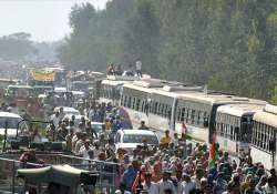 The Jat agitation completed 31 days on Tuesday- India Tv