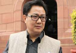 'Who's polluting her mind?': Kiren Rijiju reacts to