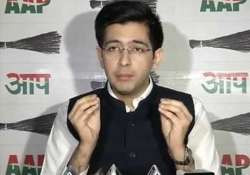 File photo of AAP spokesperson Raghav Chadha
