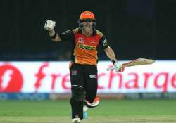 IPL 2017: Warner's superlative 126 takes SRH to 48-run