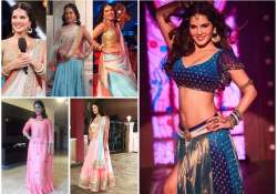 sunny leone in traditional dresses