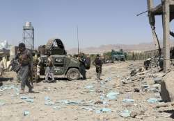 Taliban storm Afghan police compound