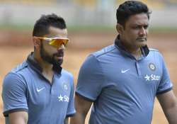 Anil Kumble is likely to retained as India's chief coach.