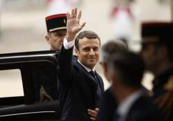 President Emmanuel Macron says he will lift France's state