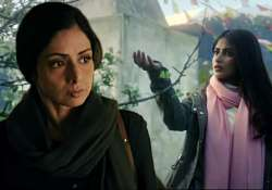 Mom: Sridevi reveals 3 new posters, Nawazuddin Siddiqui and- India Tv
