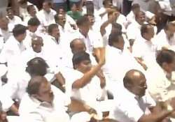 DMK MLAs evicted from Tamil Nadu assembly over payoffs for