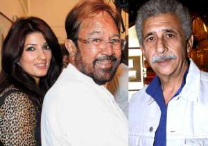 Twinkle Khanna, Rajesh Khanna and Naseeruddin Shah- India Tv