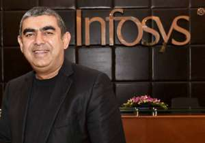 Vishal Sikka today stepped down from the post of MD and CEO