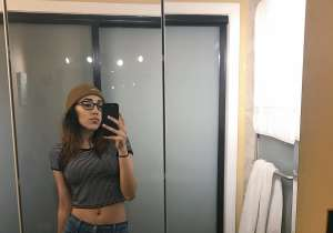 A Bathroom Selfie That Created Yet Another Optical- India Tv