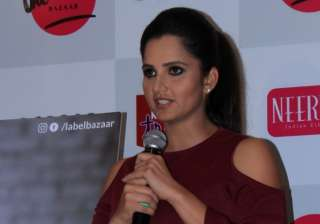 File pic of Sania Mirza - India TV