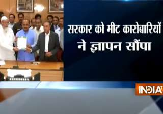 Meat traders meet UP minister SN Singh, submit...