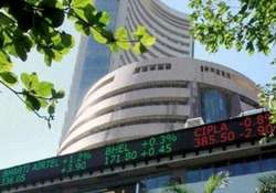 sensex rises 267 points to 1 week high led by it healthcare