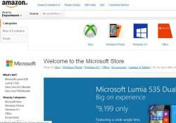 microsoft opens brand store on amazon.in