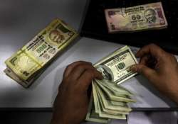 rupee snaps 2 day upmove down 22 paise at 55.43 on usd