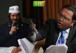 arvind kejriwal grilled by nation s only heartthrob on