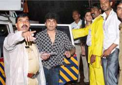 raja chaudhary caught in mumbai for drunken driving