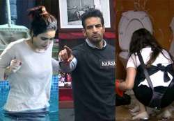 bigg boss 8 day 87 upen turns villain creates troubles for