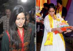 katrina gets a cold shoulder from salman s sisters at