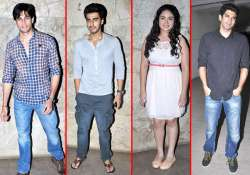 stars attend special screening of gippi watch them