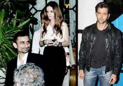 hrithik suzanne divorce suzanne continues to party spotted