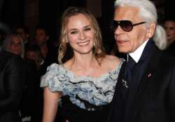 diane kruger happy to be karl lagerfeld s neighbour