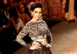 india couture week 2015 kangana ranaut to walk for manav