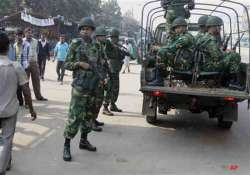 bangladesh deploys army ahead of controversial january 5