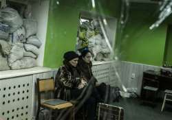 ukraine and rebels both claim to control donetsk airport
