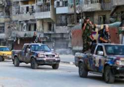 syrian troops recapture town near damascus