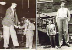 know more about the world s tallest man robert wadlow