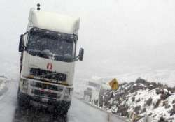 snowstorm leaves 12 000 families stranded in peru