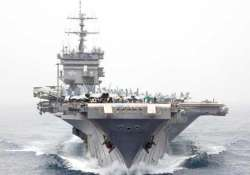us deploys aircraft carrier to gulf