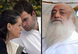 asaram bapu indirectly alleges i am being targeted by sonia