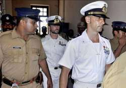 charge sheet filed against italian marines in shootout case