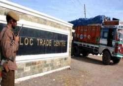 cross loc trade declining on poonch route