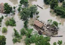 flash flood hits 4 districts of assam